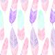 Tkanina 4303 | Pióra boho