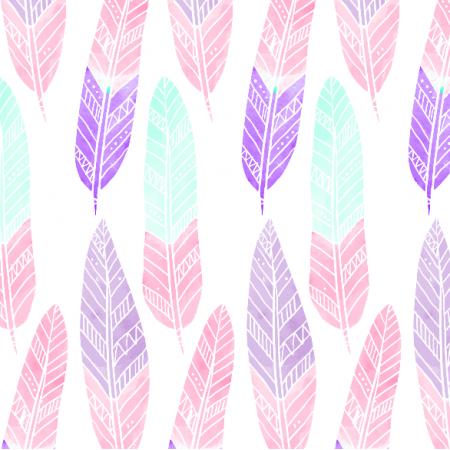 Fabric 4303 | Pióra boho