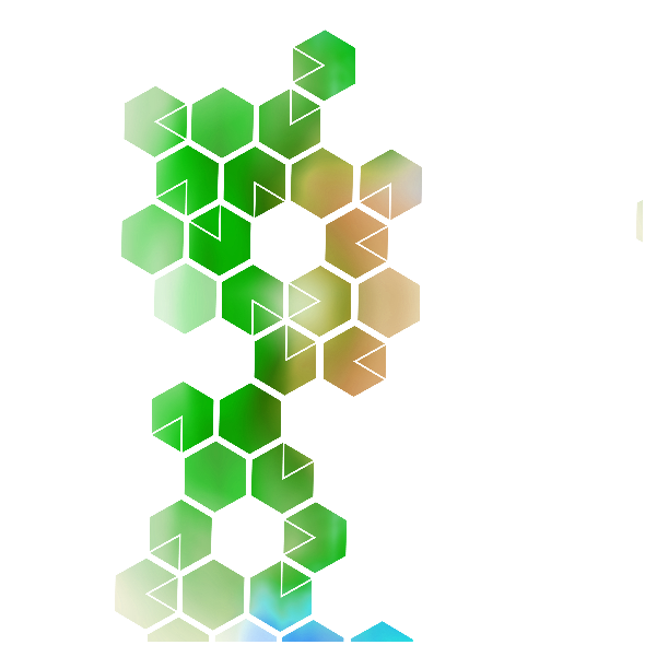 Tkanina 4342 | HEXAGON 004 GREEN