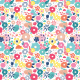 Fabric 4392 | pop art floral