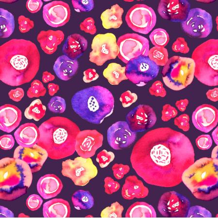 Fabric 4413 | Mystery flowers