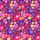 Tkanina 4457 | Mystery Flowers