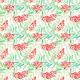 Tkanina 4662 | Jarzębina na Białym tle