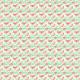 Fabric 4662 | Jarzębina na Białym tle
