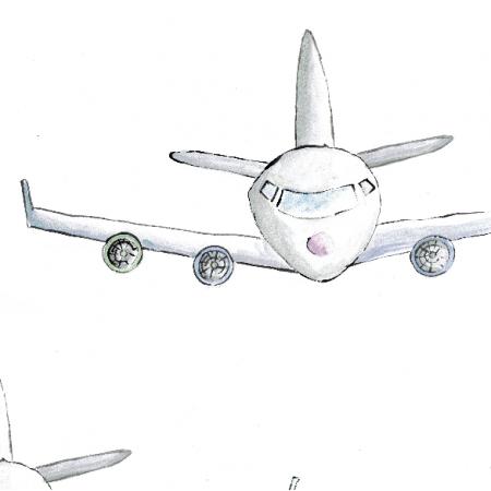 Fabric 4666 | samolot