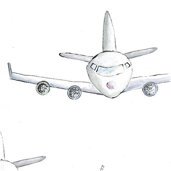 Tkanina 4666 | samolot