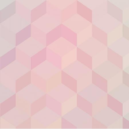Fabric 4772 | pastel cubics 3d