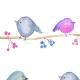 Tkanina 4901 | BIRDS