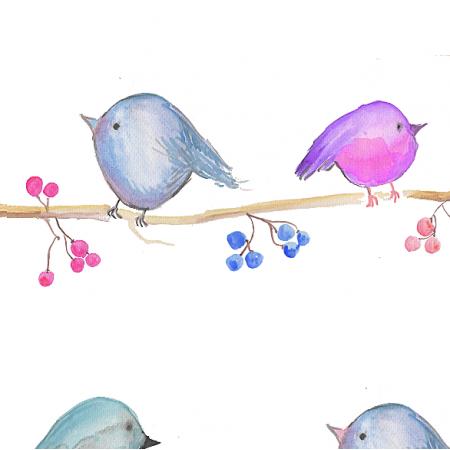 Fabric 4901 | BIRDS