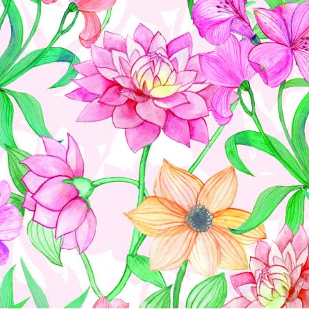 Fabric 4993 | Garden