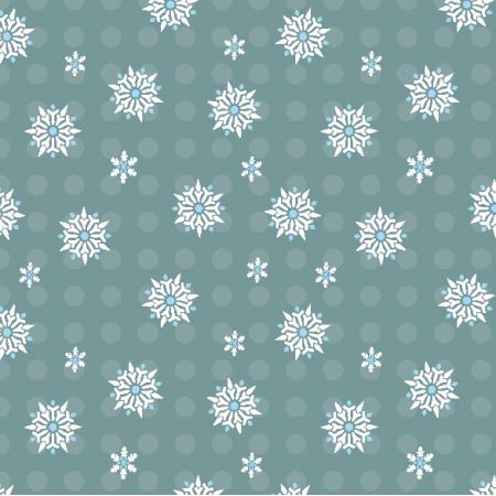 Fabric 5077 | śnieżynki