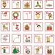 Tkanina 5086 | Kalendarz adwentowy