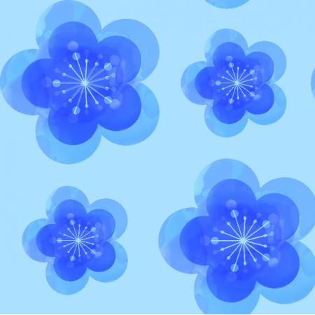 5112 | Blue flower