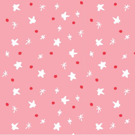 Tkanina 5190 | Świąteczne gwiazDki