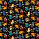 Tkanina 5241 | ptaszki chuligany