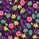 Fabric 5246 | etno kwiatki