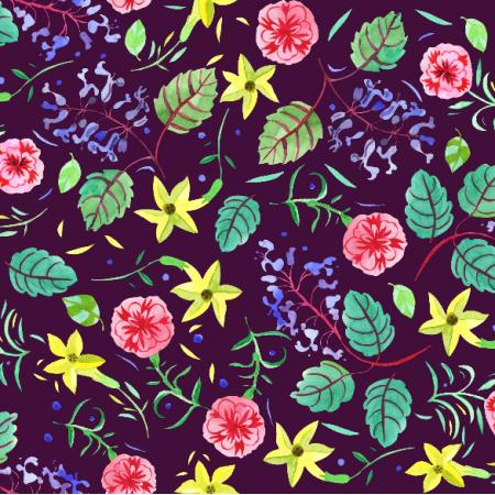 5246 | etno kwiatki