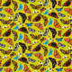 Tkanina 5349 | Motyle