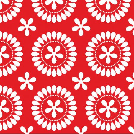 Fabric 5372 | śnieżynki 4