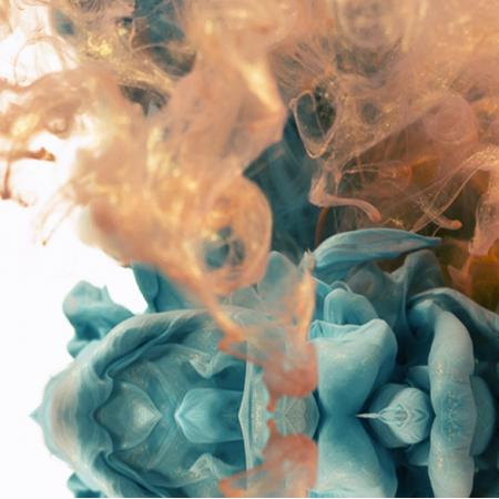Fabric 5437 | MICRO PLANET SMOKE