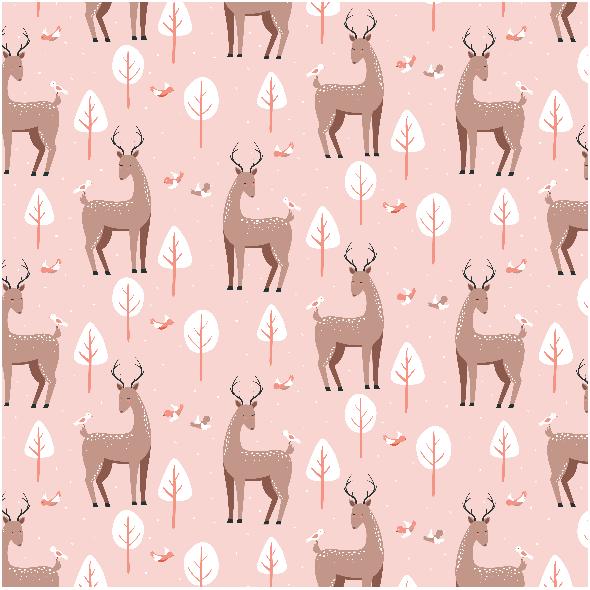 Tkanina 5587 | deer