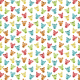 Tkanina 5696 | colorful bears