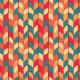 Tkanina 5699 | Splot pomarańczowy