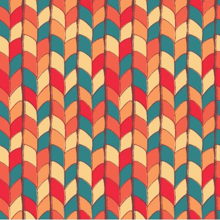 Fabric 5699 | Splot pomarańczowy