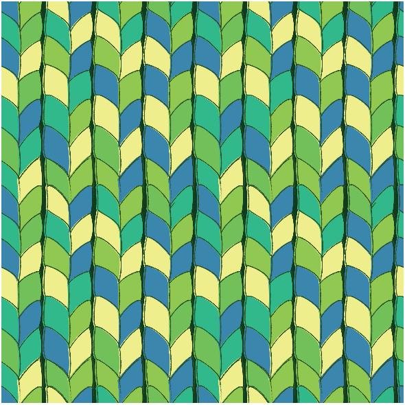 Fabric 5701 | splot zieleń