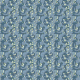 Fabric 5722 | blue vines