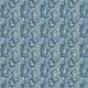 Tkanina 5722 | dzikie pnącza niebieskie