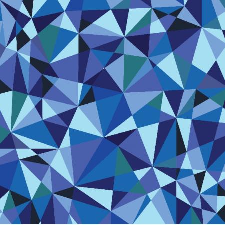 Fabric 5723 | blue crystals