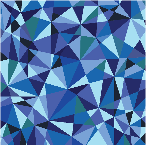 Fabric 5723 | blue crystals