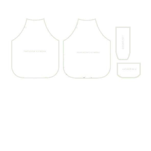 Fabric 5948 | fartuch dla dziecka - dwustronny0