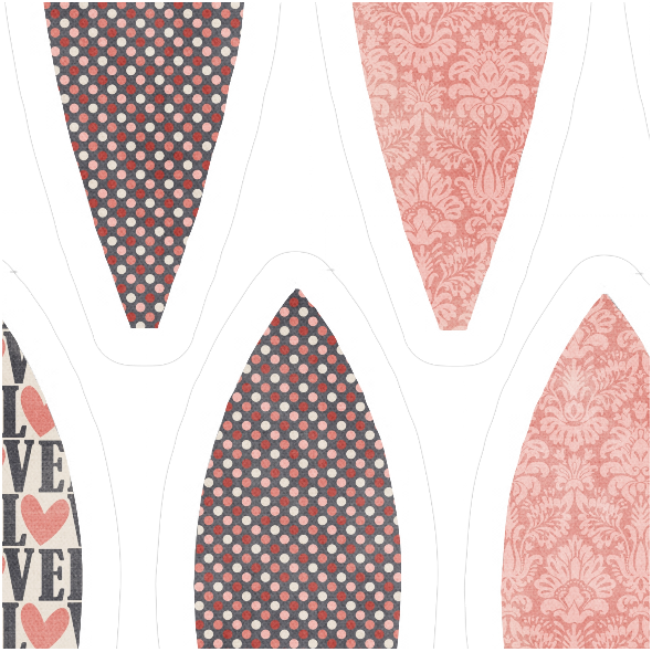 Fabric 6000 | LOVE IN THE AIR3 BALOON PATTERN
