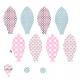Tkanina 6001 | Love baloon2x baloon patternpanel
