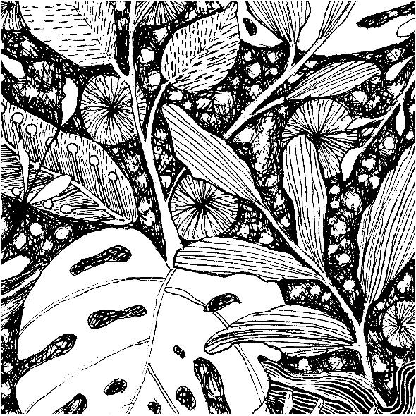 Tkanina 6007 | dżungla