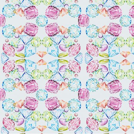 Fabric 6017 | brylanty diamenty Material Girl1