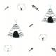 Tkanina 6105 | Tipi & Bear