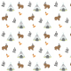 Fabric 6113 | animals