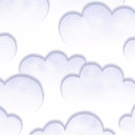 Fabric 6170 | chmury white
