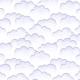 Tkanina 6170 | chmury white