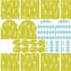 Tkanina 6232 | Zestaw wielkanocny nr 2