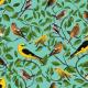 Tkanina 6347   ptaki