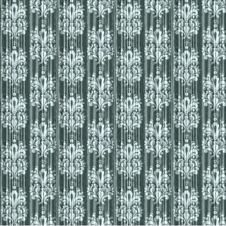 Fabric 6522   vintage damask zieleń 0