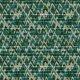 Fabric 6525 | zielona wariacja - trójkąty, choinki