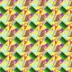 Fabric 6527 | szkoła na żółtym