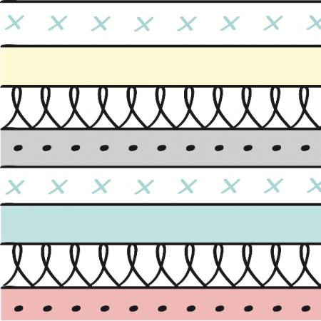Fabric 6618 | aztec pattern