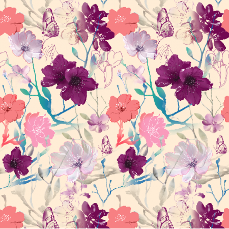 Fabric 6935 | Blooming apple0