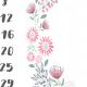 Tkanina 6991 | Kalendarz do sesji 1